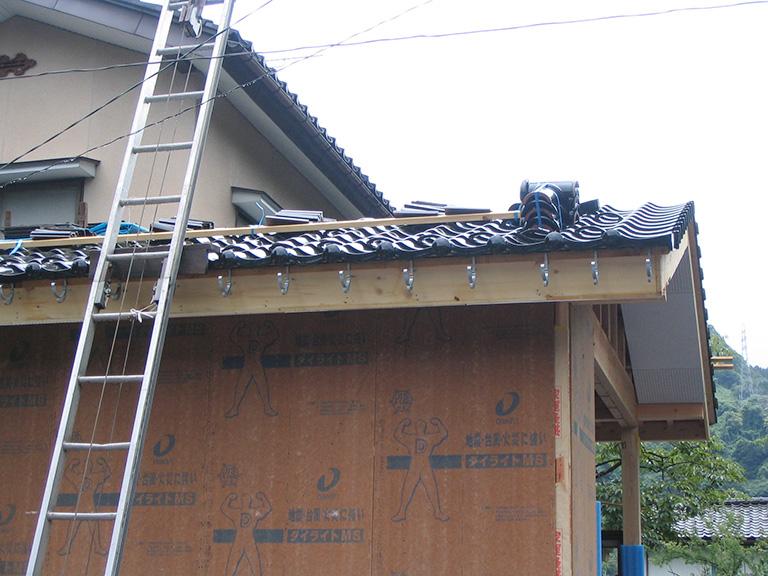 和室と縁側の増築工事