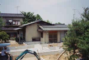 二世帯住宅増築工事