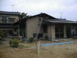 増築前の現地調査