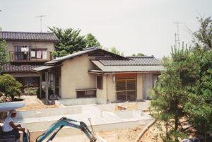 増築基礎工事