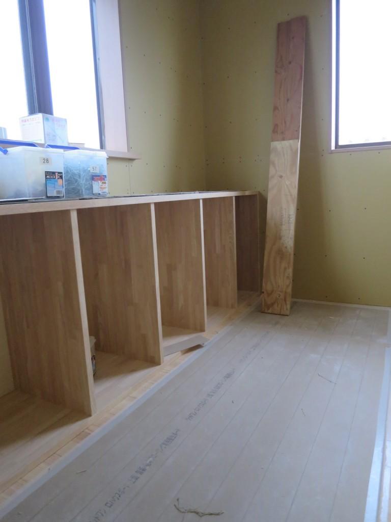 物干し室の収納