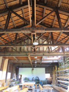作業場屋根