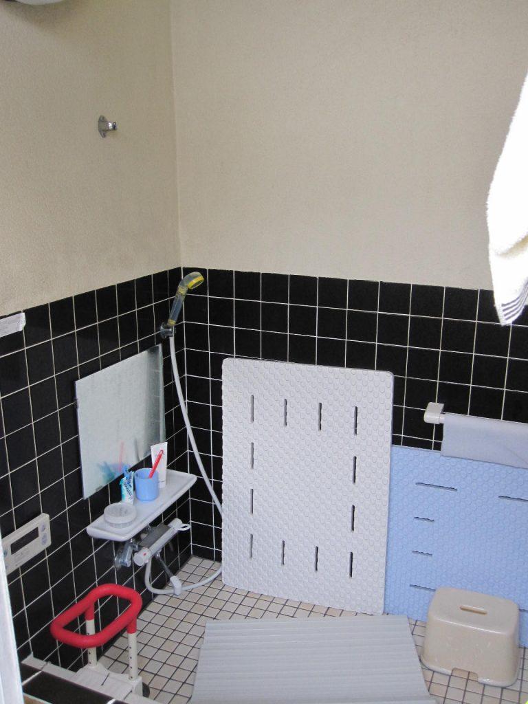 タイルの浴室 お風呂リフォーム前