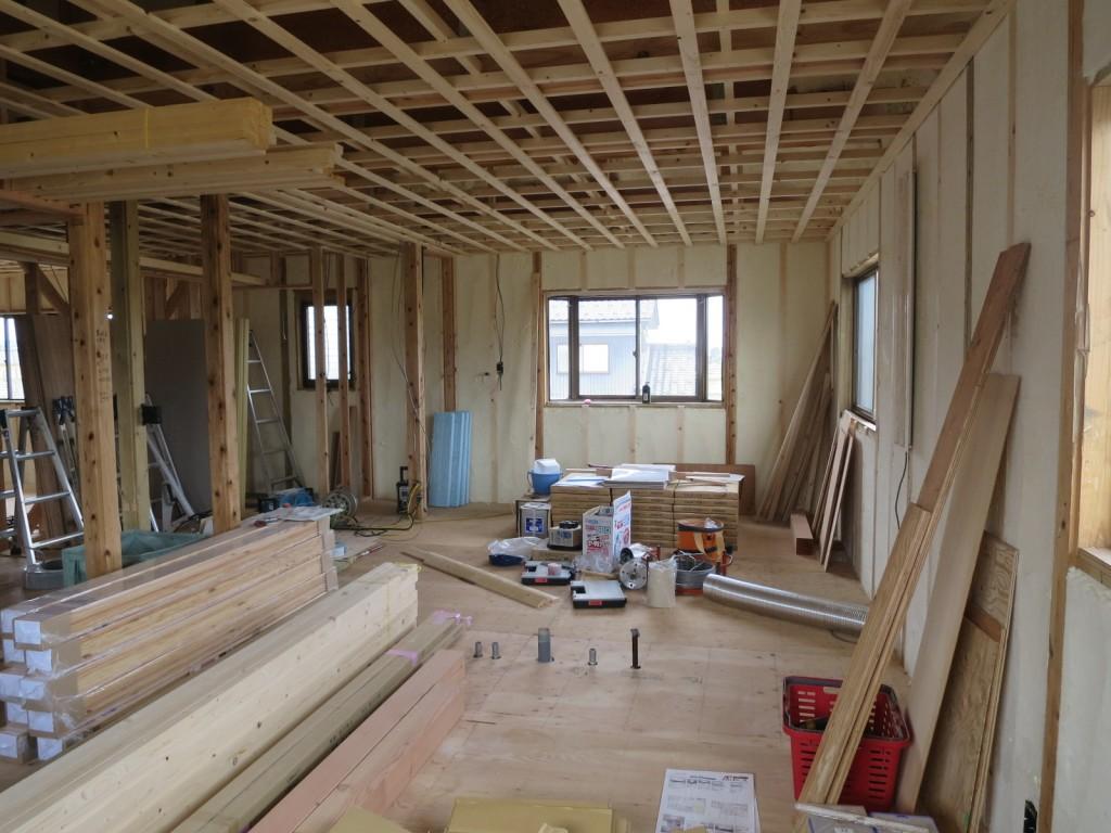 二世帯住宅の遮音工事