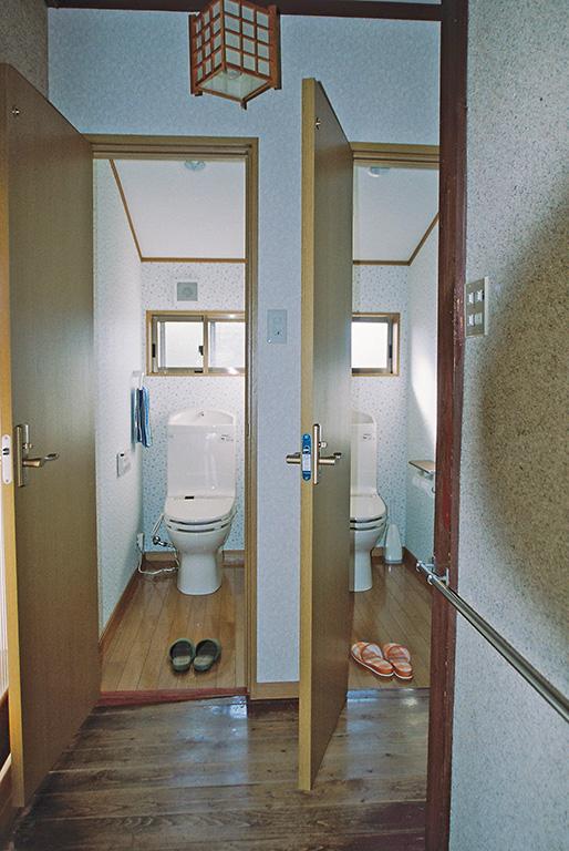水洗トイレへリフォーム