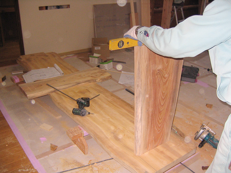 2階にキッチンを作るリフォーム