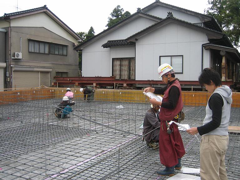 曳き家工事