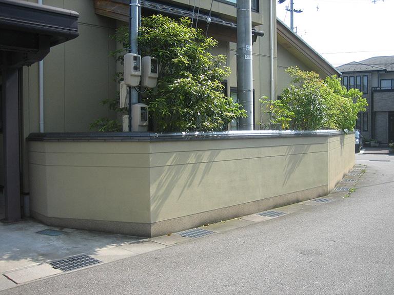 ブロック塀をアルミフェンスへリフォーム工事