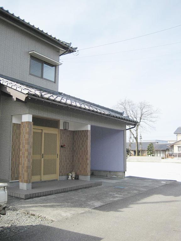 外壁重ね張りリフォーム工事