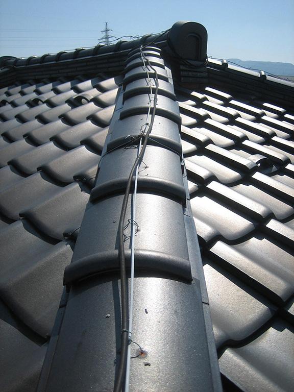 屋根瓦の点検、修理