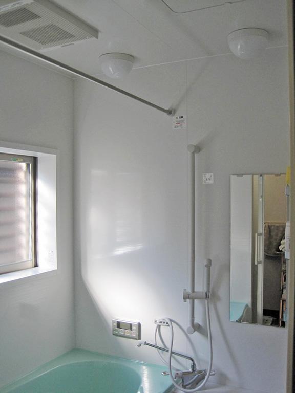 タイルの浴室をユニットバスへリフォーム工事